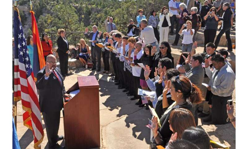 Naturalized immigrants more politically integrated citizens, Stanford research shows