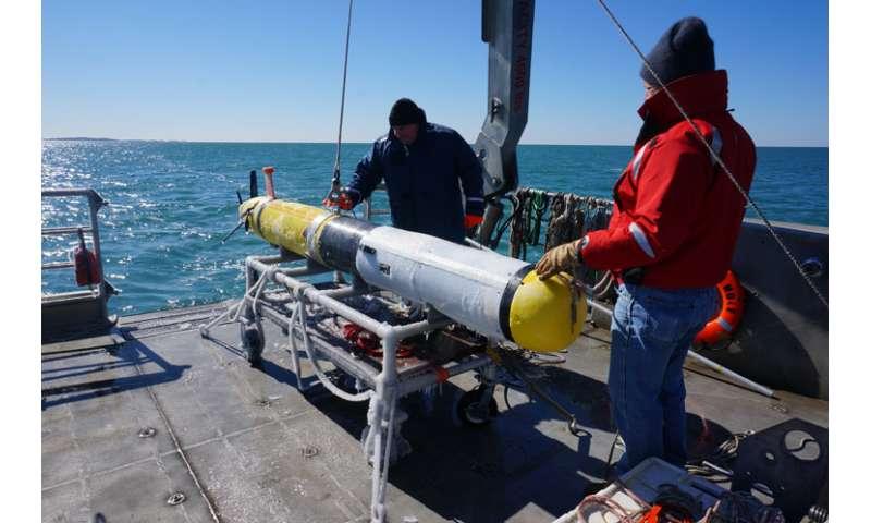 New AUV plankton sampling system deployed