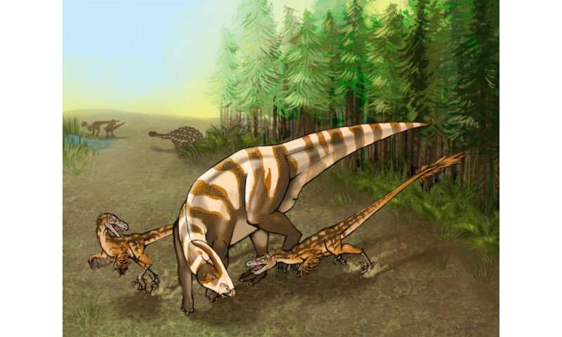 New dinosaur's keen nose made it a formidable predator, Penn study finds