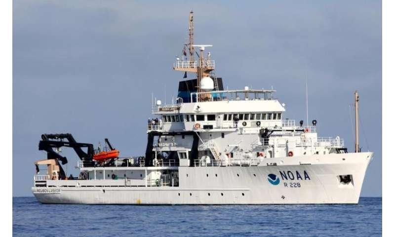 Newest NOAA fisheries survey ship begins West Coast and Alaska whale survey