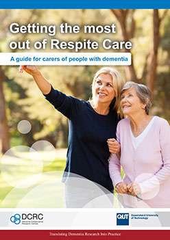 New guide on respite care for elders with dementia