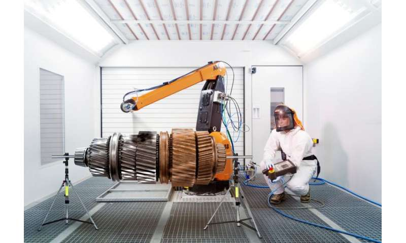 New low friction coating allows grease-free lubrication and corrosion protection