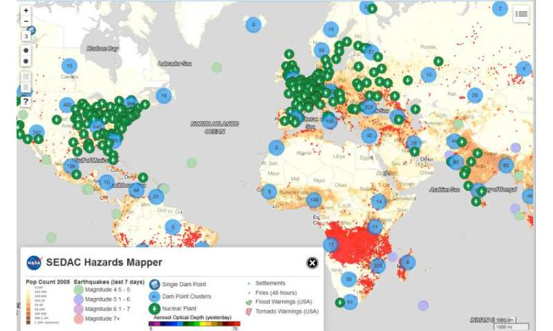 New mapping tool lets users easily pinpoint hazards data
