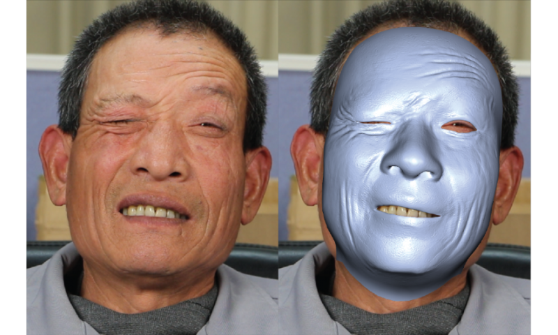 New method captures facial details at high fidelity and real time