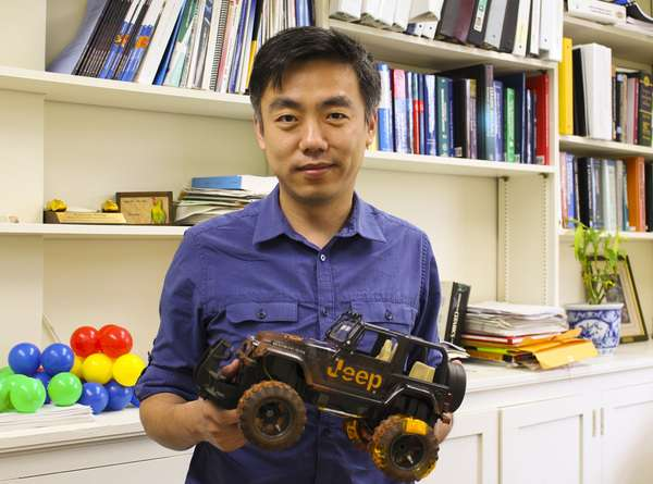 New nanogenerator harvests power from rolling tires