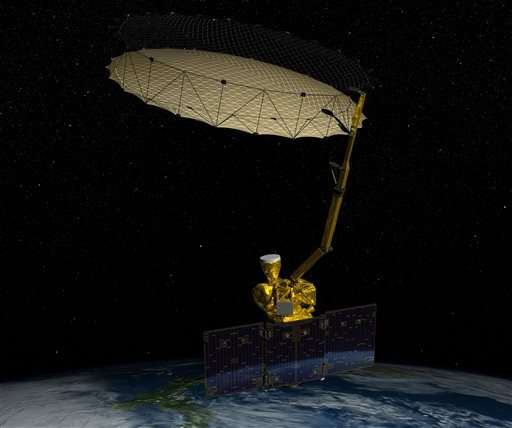 New NASA soil moisture satellite loses one science instrument