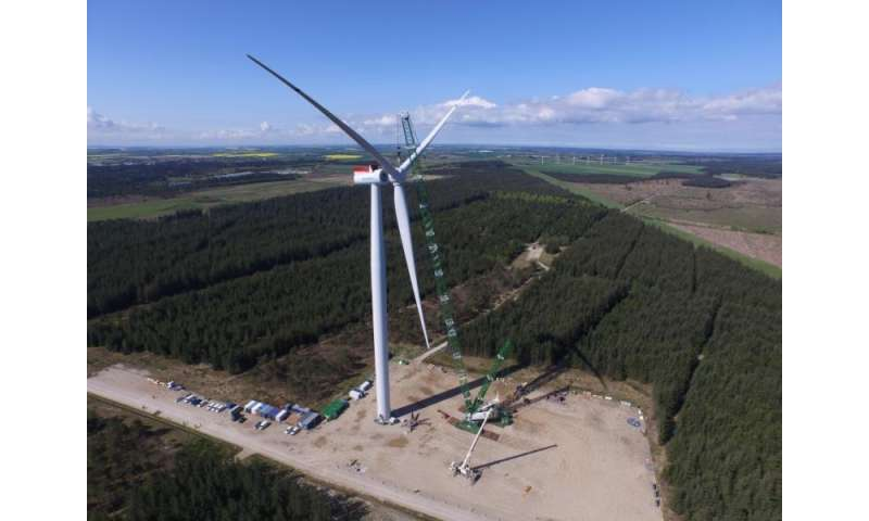 New offshore wind turbine boosts energy yield by nearly ten percent