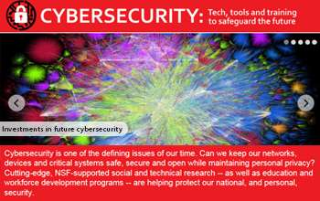 Education Research Highlights From 2015 >> New Special Report Highlights Nsf Funded Cybersecurity