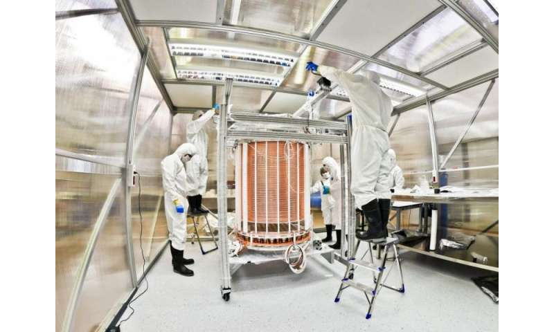 New ultra-sensitive instrument aims to detect hints of elusive dark matter particles