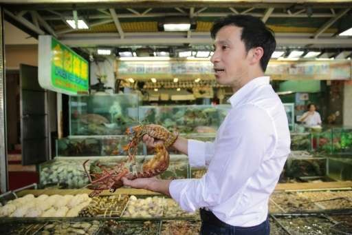 Ng Wai-lun, one of the owners of Chuen Kee Seafood Restaurant on Sai Kung's promenade, says he would have to scrap 70 percent of