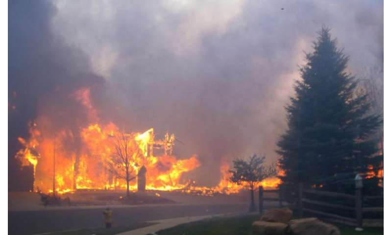 NIST study of Colorado wildfire shows actions can change outcomes
