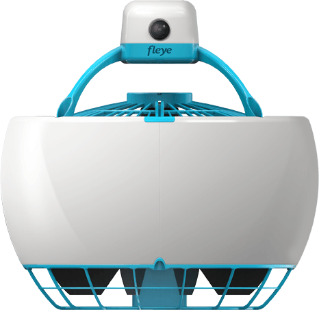 Not your nephew's drone: Fleye as flying robot of future