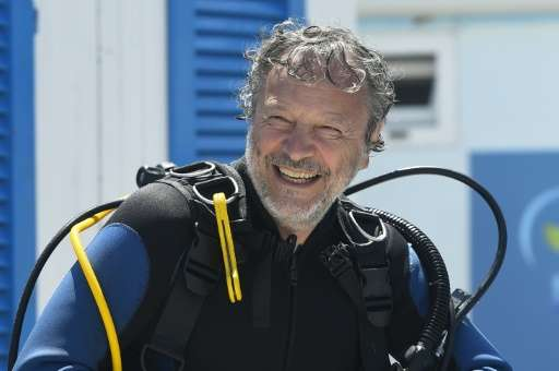 Ocean Reef CEO Sergio Gamberini, head of Nemo's Garden project, pictured in Noli