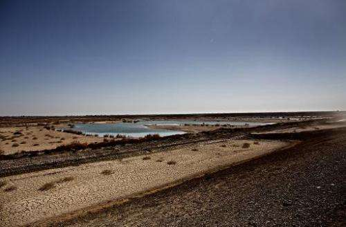 Only 15 years ago, Hamoun was the seventh largest wetland in the world, straddling 4,000 square kilometres (1,600 square miles)