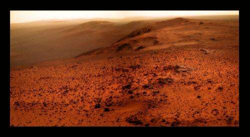 Opportunity's breathtaking view from atop Cape Tribulation