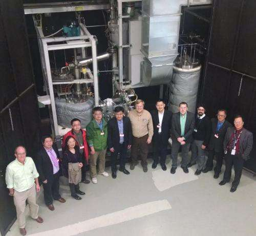 ORNL and SINAP cooperate on development of salt-cooled reactors