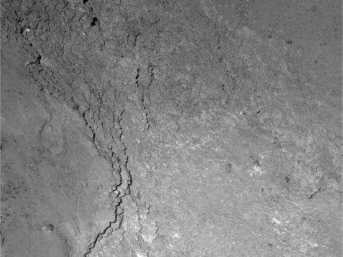 OSIRIS catches glimpse of Rosetta's shadow