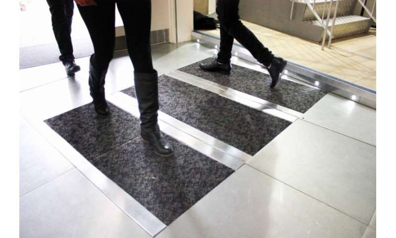 Pavegen looking to harness energy from pedestrian footsteps