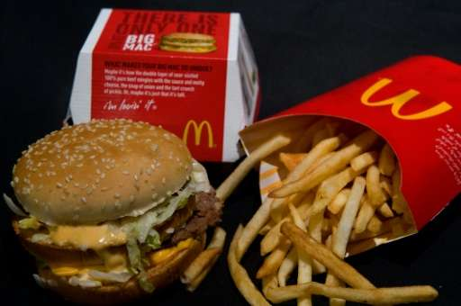 People can now insert images of McDonald's Big Mac into their social media posts