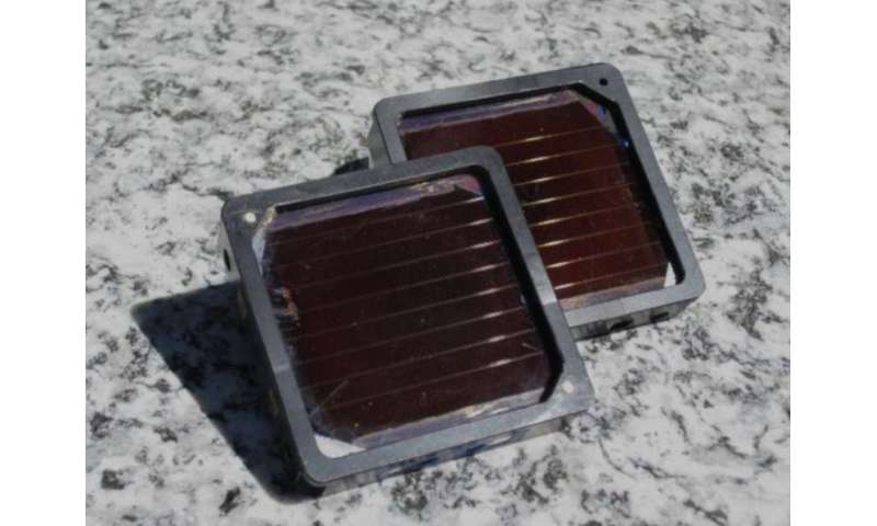 Perovskite photovoltaic module with eight percent conversion efficiency