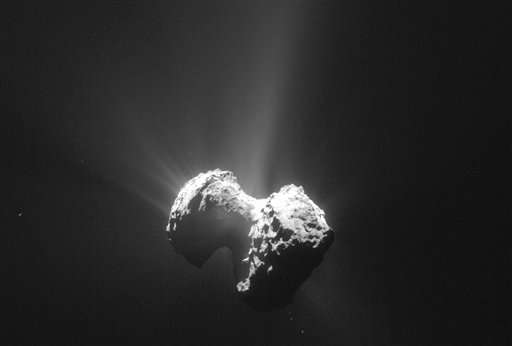 Philae probe finds evidence that comets can be cosmic labs