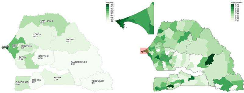 Pinpointing poverty with cellphone data