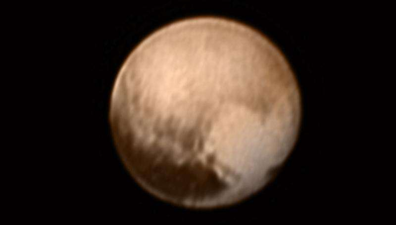 Pluto's 'heart' revealed as New Horizons probe starts flyby campaign
