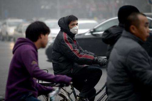 Pollution has become a major source of popular discontent with the Communist Party