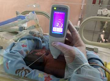 Preventing cerebral palsy in preterm infants through dermal monitoring