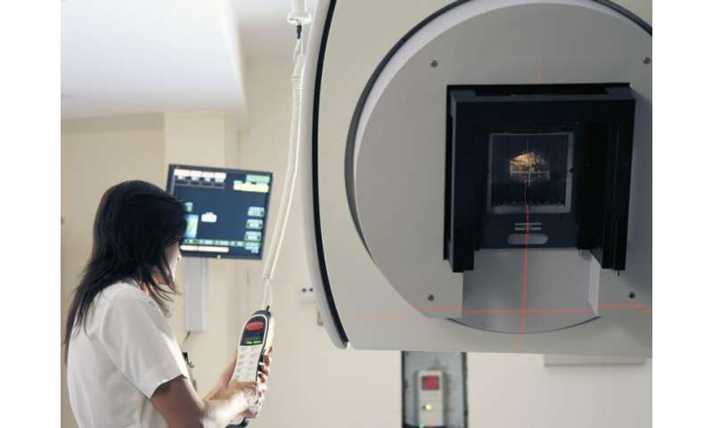 Preventing radiation in cancer therapies to damage healthy organs