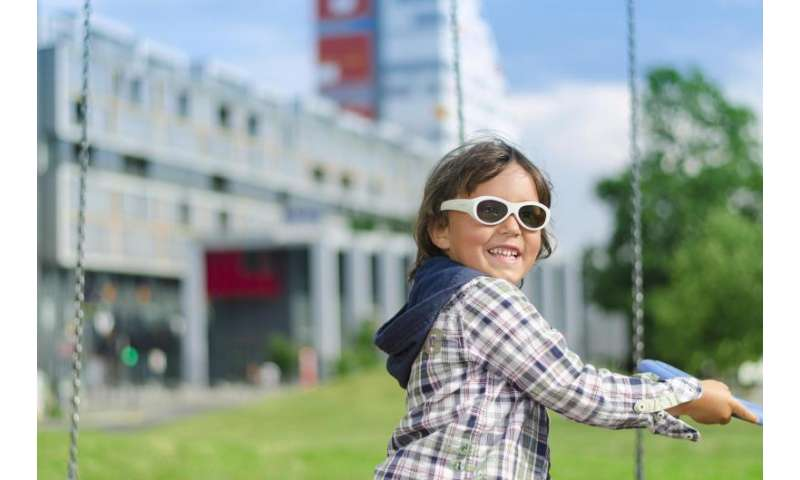 Programmable electronic glasses provide children effective, digital lazy eye treatment