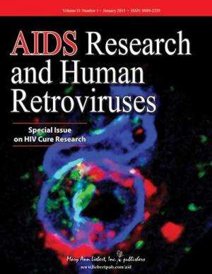 Progress toward an HIV cure highlighted in special issue of AIDS Research and Human Retroviruses