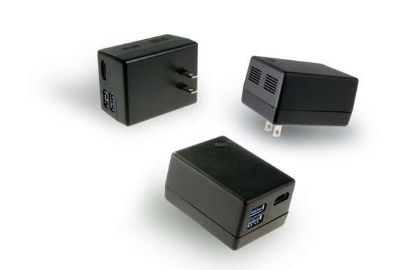 Quanta Compute Plug--a computer the size and shape of an AC adapter