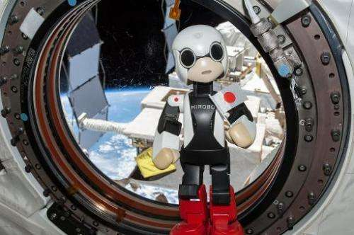 """Kirobo""—a pint-sized Japanese robot that became the first android to converse with an astronaut in space—hitched a ri"