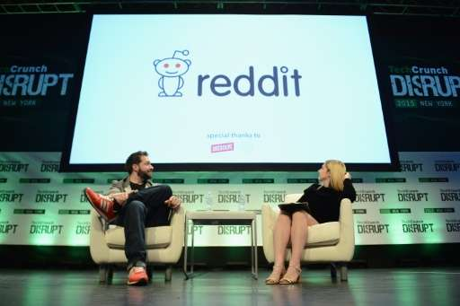 Reddit co-founder Steve Huffman has returned as chief executive saying he and co-founder Alexis Ohanian (pictured L) set up the