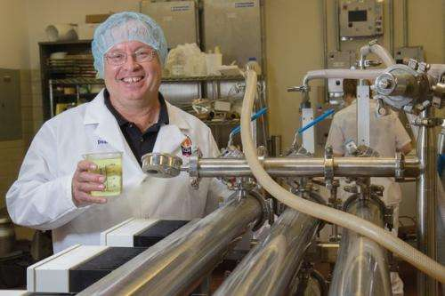 Research center turns yogurt waste into new products