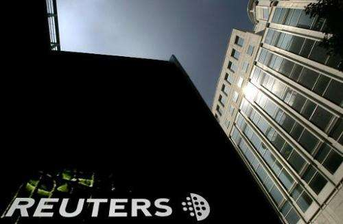 Reuters news websites were inaccessible in China with the global newswire saying in a report that users first experienced diffic