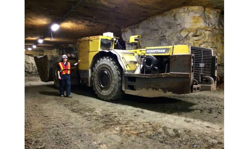 Robotic technology promises to improve mining safety