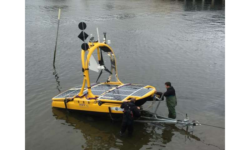 Robot technology to measure UK's marine wildlife