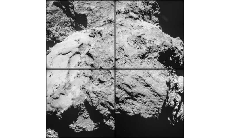 Rosetta space probe takes sharp, close-up images of comet