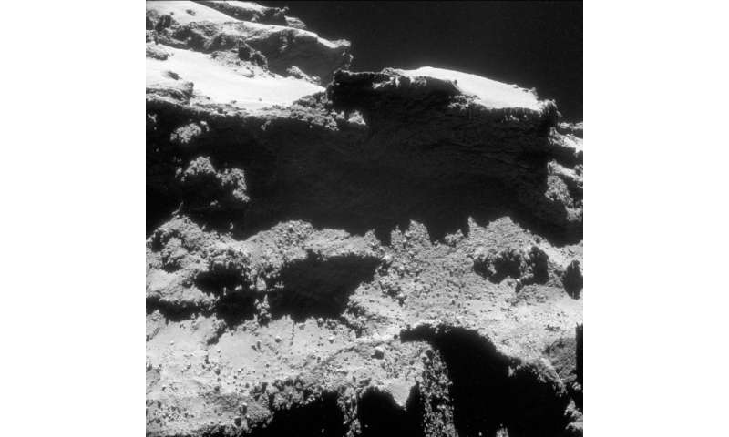 """Rosetta's view of a comet's """"great divide"""""""