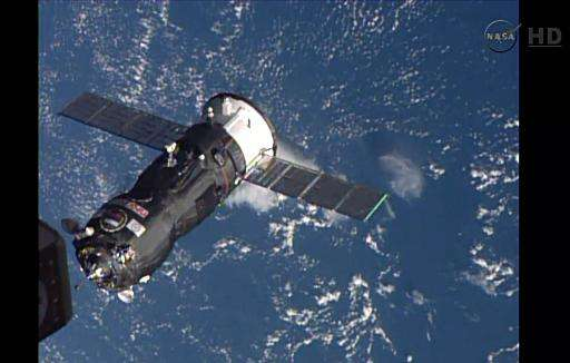 Russia says an unmanned Progress spacecraft carrying supplies to the International Space Station has suffered a glitch