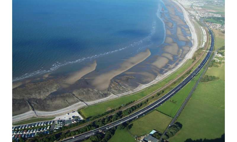 Sand-engine to protect against coastal erosion