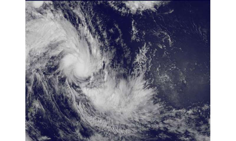 Satellite captures birth of South Pacific Tropical Cyclone Ula