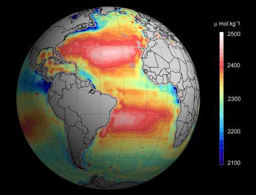 Satellite images reveal ocean acidification from space