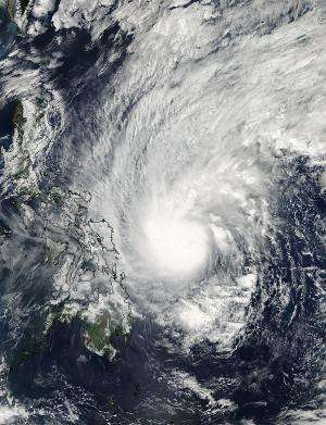 Satellite sees heavy rain in Tropical Storm Mekkhala on its approach to Philippines