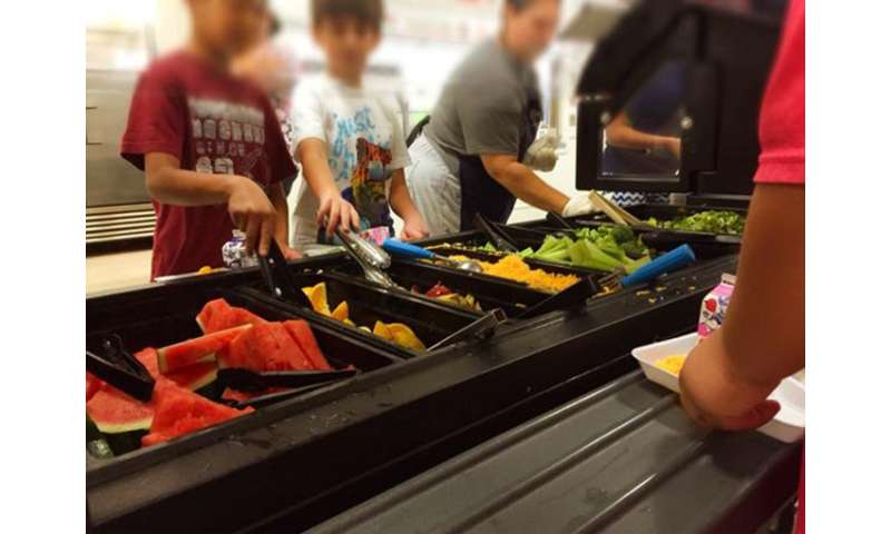 Schools serving healthier meals for students