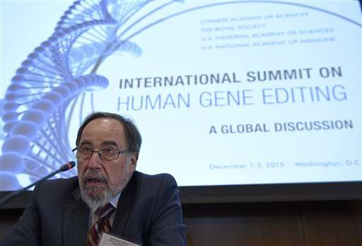 Scientists, ethicists tackle gene editing's ethics, promise