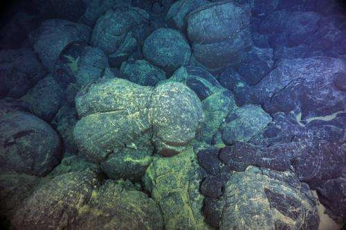 Seafloor volcano pulses may alter climate
