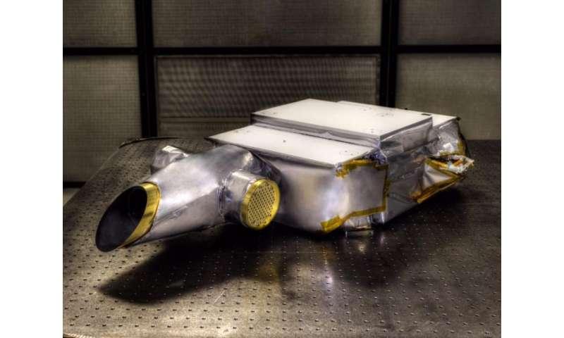 Second instrument delivered for OSIRIS-REx mission